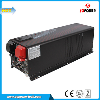 3000 Watt 12 Volt 220 Volt Hybrid Solar Power Inverter for Solar Panel System