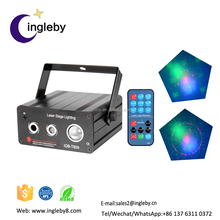 Popular remote controlled laser show system merry christmas projector