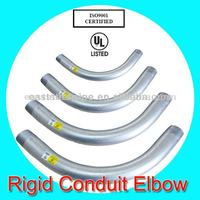 electric steel pipe joint rigid conduit elbow