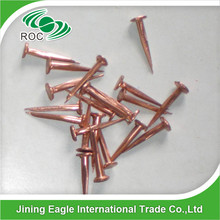 99.9% red copper cut tacks nail for Wooden boat building