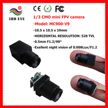 520tvl HD 0.008lux Low Light Mini Concealed Lift Camera (11.5x11.5x15mm, Weight 2g) (MC900D)