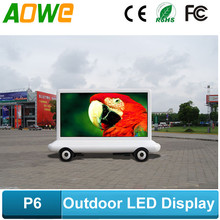 p6mm advertising mobile truck led display boards