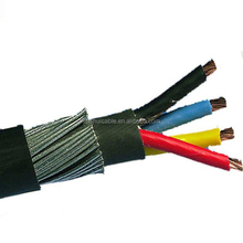 4 Core 16MM2 Steel Wire Armored Cable Low Voltage