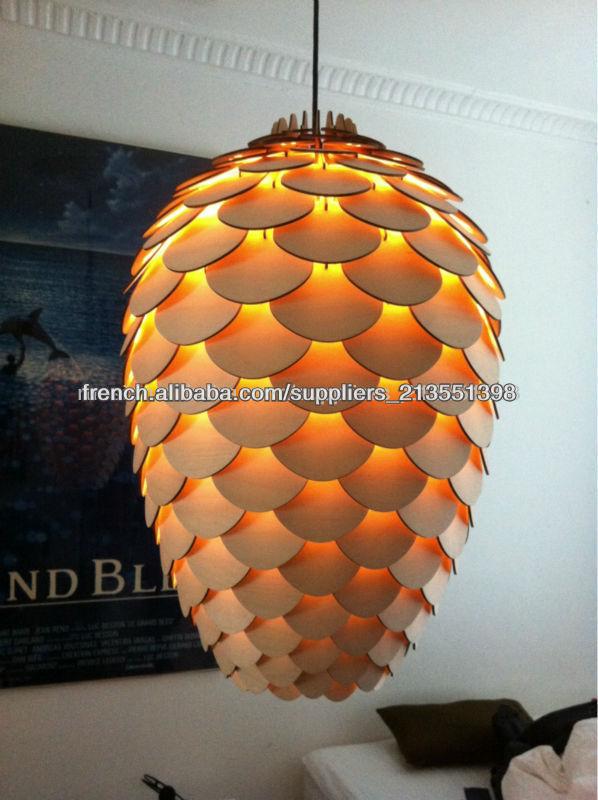Pomme de pin lampe lampe pendentif lampe moderne xcp6438 for Lampe pomme de pin