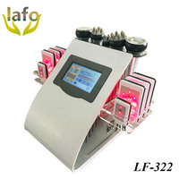 Lipo laser 5 in 1 lipolaser / vacuum cavitation rf lipo laser slimming machine/ best lipo laser machine for sale