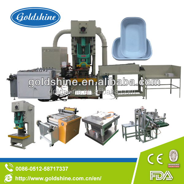 Goldshine Automatic aluminium product making machine