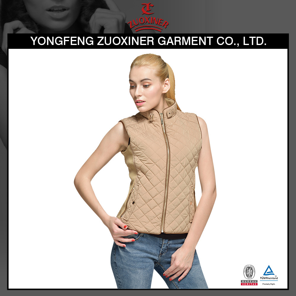 winter padding cheaper price vest for ladies