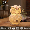 Rechargeable owl animal shaped table lamp for living room