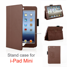 Protective Colorful Cover for ipad mini cases leather