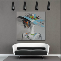 wholesale canvas art painting original fabric abstract canvas painting