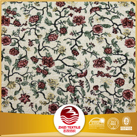 80%polyester 20%cotton china wholesale beautiful floral rosette table cloth fabric