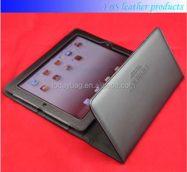 hot selling sleep mode tablet PC cover for ipad air unfoldable leather case