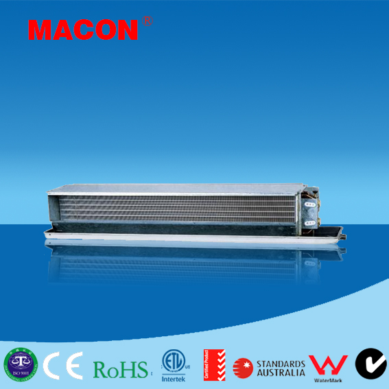 Ceiling Concealed Type ducted Fan Coil unit horizontal fan coil