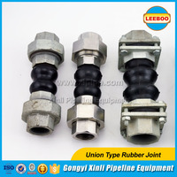 Pipe flexible union rubber connector with Factory direct price