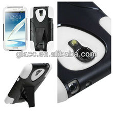 2013 New arrive Hybrid Stand case for Samsung galaxy s4/S IV/I9500,Pc/silicone cell phone case