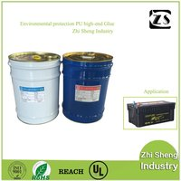 Lead - acid battery center cover double - component liquid epoxy resin