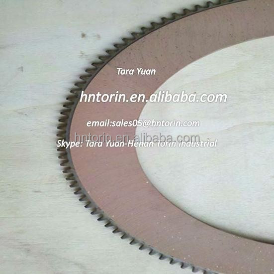 Paper Material 2P4371 friction parts /Paper based clutch plate disc SIZE 277.6*189.0*3.3