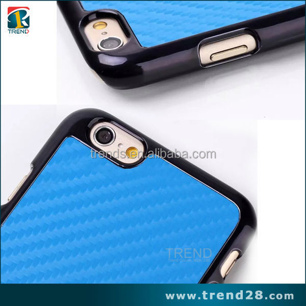 new products on china market carbon fiber celular case for iphone 6