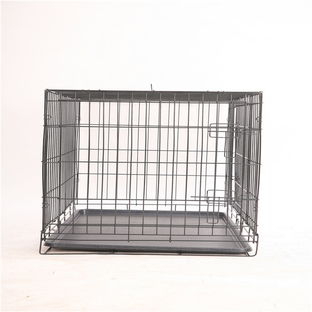 New Black Suitcase Wire Folding Dog Cage 8 Panels Pet Play Pen