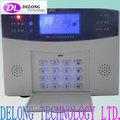 LCD display PSTN anti-theft alarm system with 8 wired + 99 wireless zones