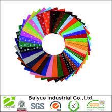Printed Felt Nonwoven Fabric Sheet for Craft Work