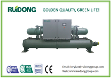 Well-known brand water cooled srew unit water chiller