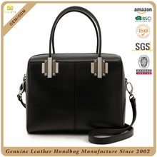 CSS1755-001 black saffiano cow leather bags made in korea