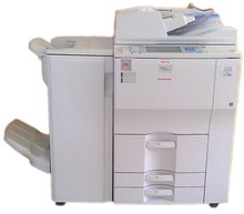 Used Copiers Printer Machine photocopiers MP7500/8000 with finisher
