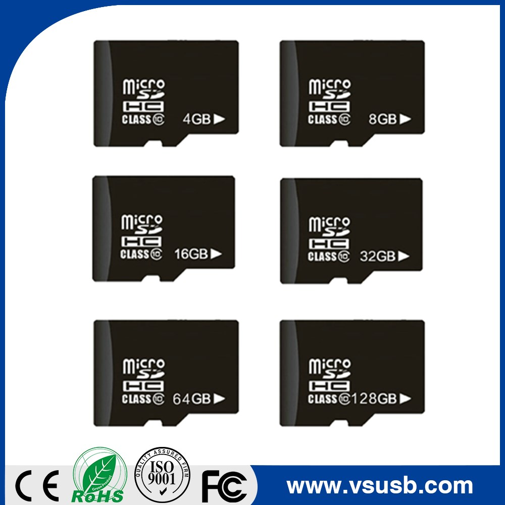 Factory price bulk Full Capacity TF Memory Card 4GB 8GB 16GB 32GB Class 10 SD Card