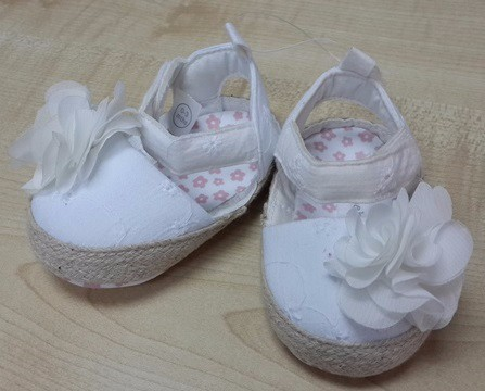 HIGH QUALITY BABY GIRL SHOES PINK COLOUR (AGE : 0 - 18 MONTH)