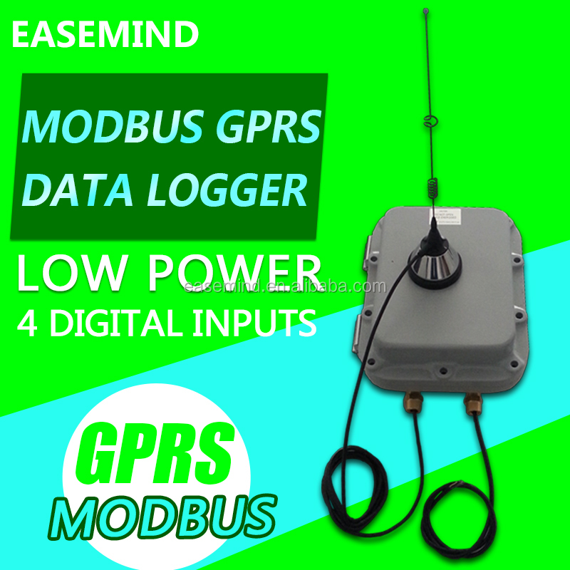 GSX8-LSEX Low Power 4 Digital Inputs Data Logger modbus GPRS rtu