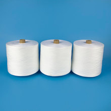 Raw White Garment Repairs 40/3 Polyester Spun Yarn for Art Crafts