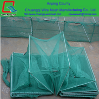 foldable crab fishing drop net ,folding fish trap ,folding lobster trap