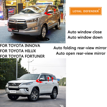 Auto power window switch and folding mirror suitable for Innova Fortuner suv Hilux car accessories Thailand parts