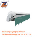 Hot selling half cassette retractable window awning with hand crank
