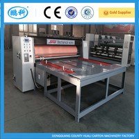 chain feeding semi- automatic rotary die- cutting , corrugated carton rotary die cutter