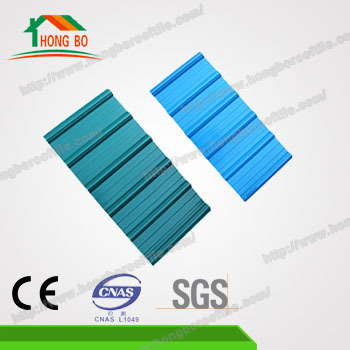 Good Waterproof Performance Corrugated White Plastic Roof Sheet