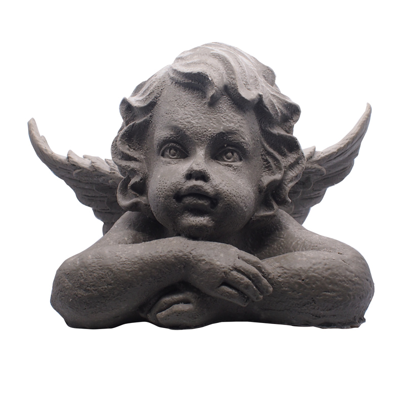Garden Ornaments Handmade Small Angel Resin