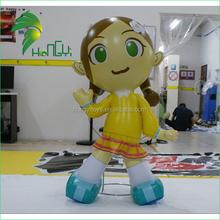 Fashional New Design Lovely Inflatable Anime Girl / Best Wholesale Inflatable Advertising Girl Model Cartoon