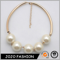 fashion white pearl pendant necklace jewelry