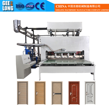 door hydraulic hot press machine for making plywood