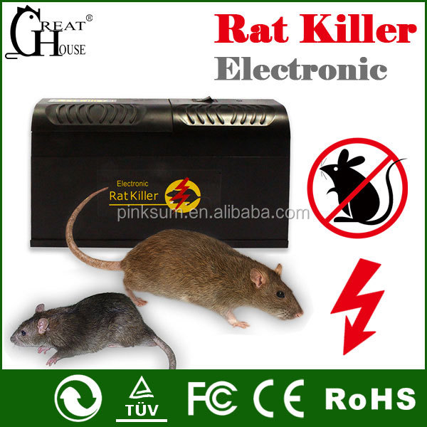 GH-190 electronic rat killer rat trap