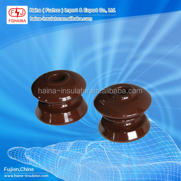 Electric all types shackle porcelain insulators ceramic isolator