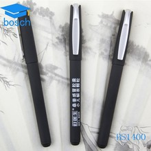 Wholesale free sample black best gel pen with logo