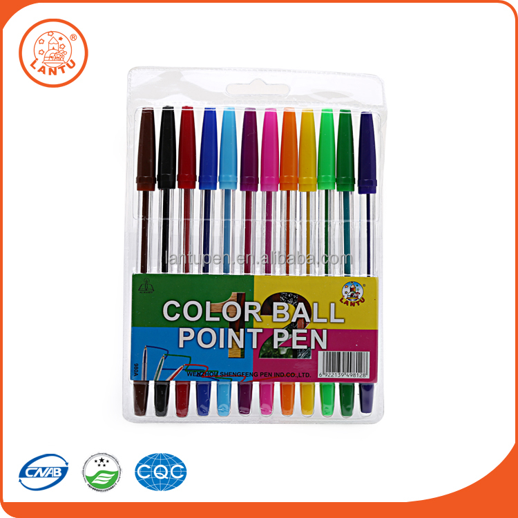 Lantu New Design Best Cheap High Quality Custom Colourful Ball Point Pen