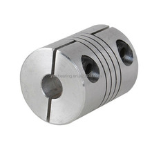 6.35mm to 8mm Aluminum CNC Stepper Motor Shaft Coupler flexible shaft couplings