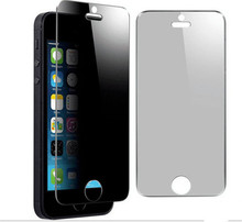 Anti peeping spy tempered glass screen protector Explosion-Proof Premium For Apple iPhone4