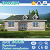 Earthquake resistance fast construction steel structure prefab villa low cost with CE AS ULC