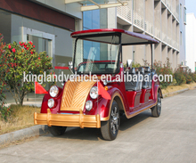 8 passenger electric cars for tour customer 8 seat Electric luxury tour buses with CE Certificate