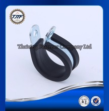 customized rubber lined hose clamps / metal pipe fixing clamp